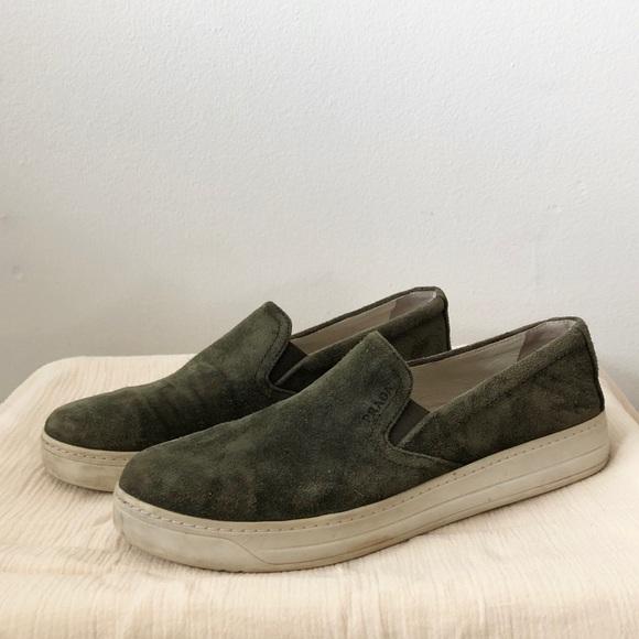 Prada Shoes | Prada Slip On Sneakers